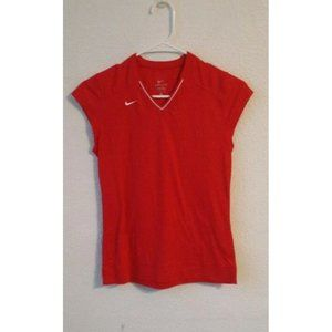 NIKE DRI-FIT SHORT SLEEVE red T-SHIRT unigender
